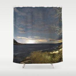 Big Dipper at Folly Cove Shower Curtain