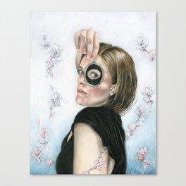 Lover's Eye Canvas Print