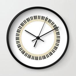 Pianom Keys Circle Wall Clock