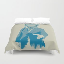 Come To Our Aid Duvet Cover