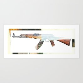 AK 47 Art Print