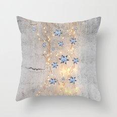 Star Wall | Christmas Spirit Throw Pillow