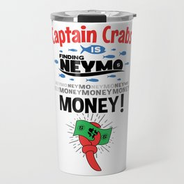 Captain Crabs is finding Neymo Travel Mug