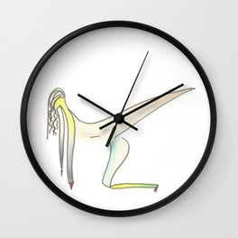Dancing wire n.1 Wall Clock