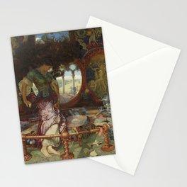 Lady on a Divan by Julius LeBlanc Stewart Stationery Cards