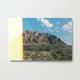 Mountain Burn Metal Print