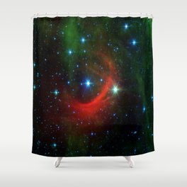 Kappa Cassiopeiae star in the constellation Cassiopeia (NASA/JPL-Caltech) Shower Curtain