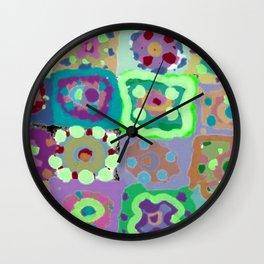 Crazy Circles Wall Clock
