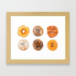 Some Donuts Framed Art Print