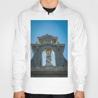 real madrid Hoodies featuring Almudena Cathedral, Madrid by Svetlana Korneliuk