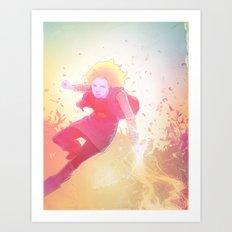 18 Art Print