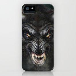 Dark Wolf iPhone Case