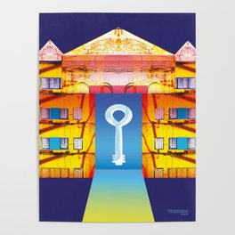 Key to the good luck Poster