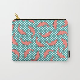 dolphin pattern Carry-All Pouch