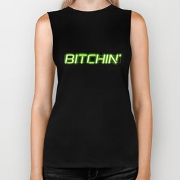 Bitchin' Neon Sign Biker Tank