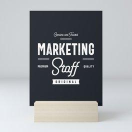 Marketing Staff Mini Art Print