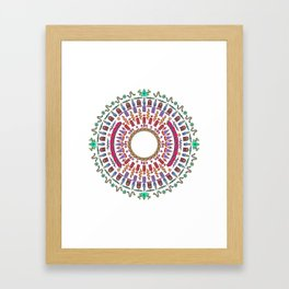 Wheel of Fortune. Framed Art Print