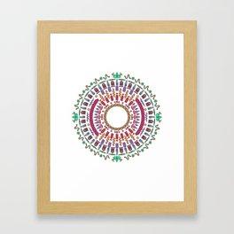 Wheel of Fortune. Framed Art Print