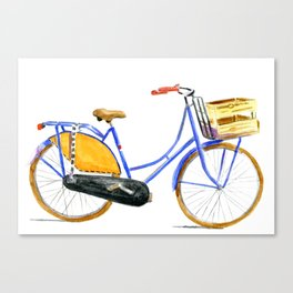 Dutch bike Canvas Print