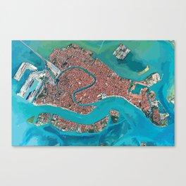 Waterways of Venice Canvas Print