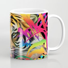 Tiger in the Jungle Coffee Mug