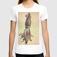 squid T-shirts featuring Squid by Irene Fratto Due