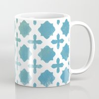 monogram Mugs featuring Monogram by Chilligraphy