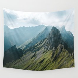 Wild Mountain - Landscape Photography Wall Tapestry