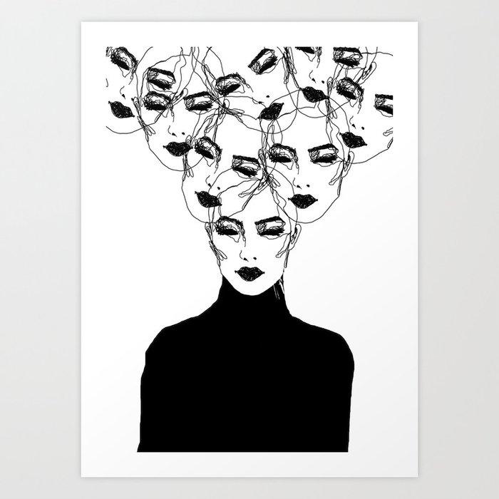N a r c i s s u s Art Print