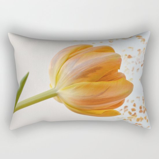 orange tulip Rectangular Pillow