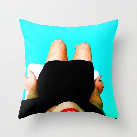 Don't Fall (in) Love Throw Pillow