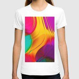 Abstract Color Parade T-shirt