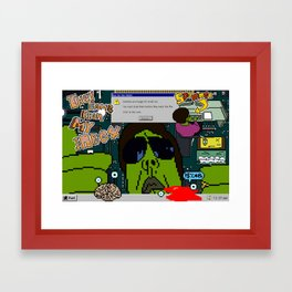 Spammer(TM) They Came From My Inbox Framed Art Print