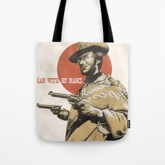 Man With No Name Tote Bag