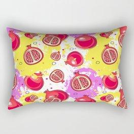 Pomegranate pattern #9 Rectangular Pillow
