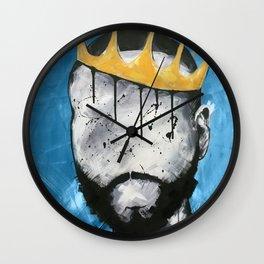 Naturally King BLUE Wall Clock