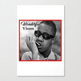 Wonderful Vision Canvas Print