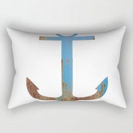 PATINA ANCHOR BLUE Rectangular Pillow