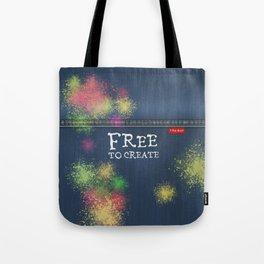 Denim Jeans - Free To Create Tote Bag