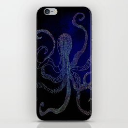 split octo personalities iPhone Skin