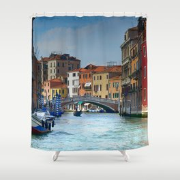 Venice Gondolas Shower Curtain