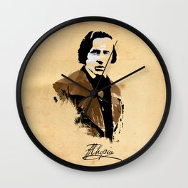 Frederic Chopin - Polish Composer, Pianist Wall Clock