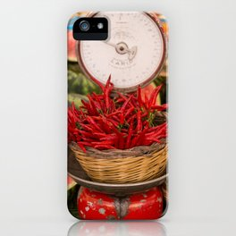 Chillies anyone! iPhone Case