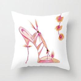 Florence Shoe Throw Pillow