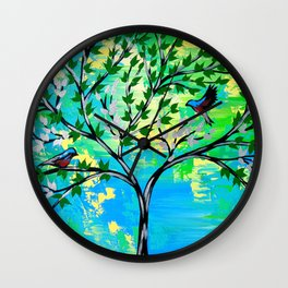 Love and Hope Wall Clock
