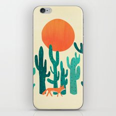 Desert fox iPhone Skin