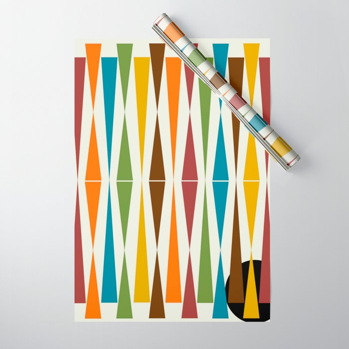 Mid-Century Modern Art 1.4 Wrapping Paper