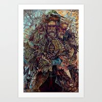 skyrim Art Prints featuring LordoftheNeverthere by Radishez