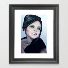 Little Diva Framed Art Print