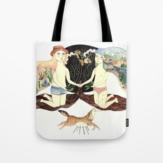 About This Time Tote Bag